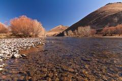 klar flod Royaltyfri Bild
