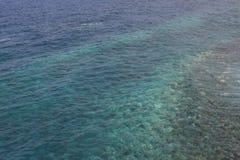 Klar havsdetalj i La Palma royaltyfri foto