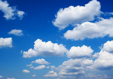 Klar himmel Arkivfoton