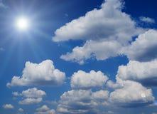 Klar himmel Arkivbilder