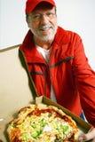 klar pizza Royaltyfri Fotografi