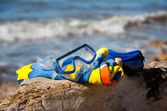 klar snorkeling 01 Arkivbilder