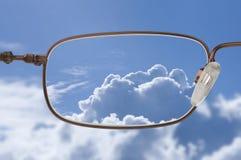 klar vision Arkivbild
