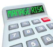 Klara av din revision för pengar för överensstämmelse för riskräknemaskinen finansiella vektor illustrationer