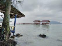 Klara Beach. Lampung Indonesia Stock Photos