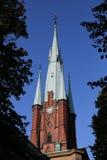 Klara Church i Stockholm, Sverige Royaltyfria Bilder