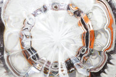 Klara Crystal Glass Royaltyfri Bild