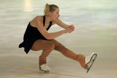 Klara Hajkova - patinaje artístico Fotos de archivo
