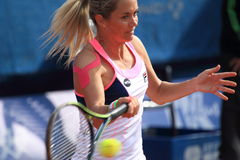 Klara Koukalova - J&T Banka Prague Open 2015 Royalty Free Stock Photo