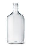 Klara plast- alkoholflaskor arkivbilder