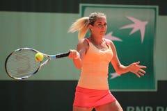 Klara Zakopalova - Franzosen öffnen 2012 Lizenzfreie Stockfotografie