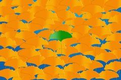 Klare Blätter Stockbild