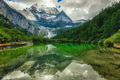 Klare Landschaft Stockbild