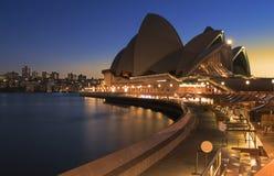 Klare Opern-Himmel Stockbild