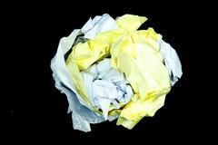 Klare Papierbeschaffenheit lizenzfreie stockbilder