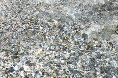 Klare Quellwasser-Beschaffenheit lizenzfreies stockbild