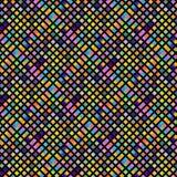 Klarer bunter Mosaikzusammenfassungshintergrund für moderne kreative Designe lizenzfreie abbildung