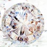 Klarer Crystal Glass Lizenzfreie Stockbilder