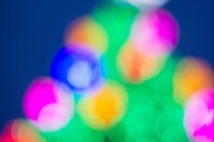 Klarer Farbhintergrund Bokeh grüne rosa Orange Stockbilder