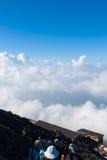 Klarer Himmel gut für das Wandern Lizenzfreie Stockfotos