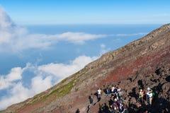 Klarer Himmel gut für das Wandern Lizenzfreies Stockfoto