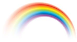 Klares buntes Regenbogenglänzen verwischt stock abbildung