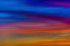 Klares cloudscape Stockfoto