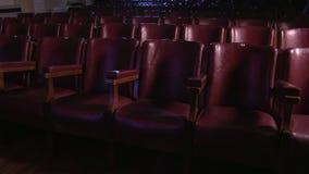 Klares Kinotheater stock footage