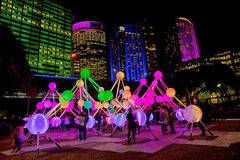 Klares Livefestival in Sydney Stockfotografie
