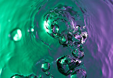 Klares Wasser spash lizenzfreie stockfotografie