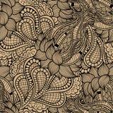 Klares Wellenmuster der abstrakten dekorativen Weinlese Stockfoto