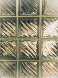 Klarglashintergrund, Hausmauer lizenzfreies stockbild