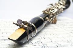 klarinett Arkivbilder