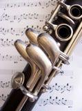 klarinett Royaltyfria Bilder