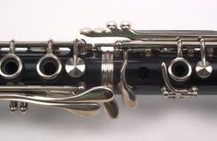 klarinettavsnitt Arkivfoto