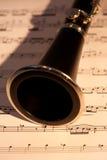 klarinetthorn arkivbild