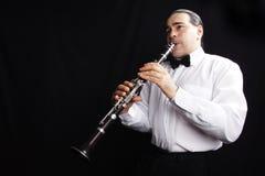 Klarinettist Royalty-vrije Stock Foto