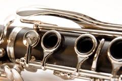 klarinettskarv Fotografering för Bildbyråer