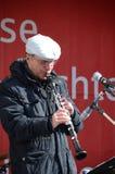 Klarinettspelare Royaltyfri Bild