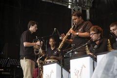 klarinettspelare Royaltyfria Foton