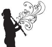 klarnet ilustracji