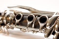 klarnetu złącze Fotografia Royalty Free
