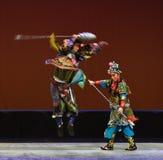 "Klarowność i dwuznacznik--Peking opery ""Little Worriors Yeuh's family† obrazy royalty free"