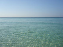 Klart blått hav Royaltyfri Fotografi