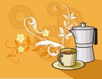klart bruk för bakgrundskaffe Royaltyfri Bild