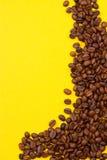 klart bruk för bakgrundskaffe grillat bönakaffe Arkivfoto