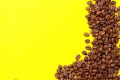 klart bruk för bakgrundskaffe grillat bönakaffe Arkivbild