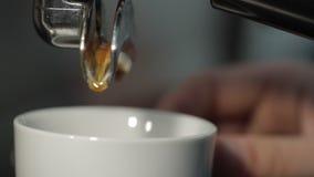 klart kaffe stock video