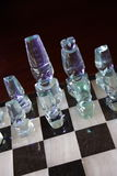 klart schack för 2 strid Royaltyfria Bilder