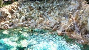 Klart turkoshavsvatten i Sardinia arkivfoton